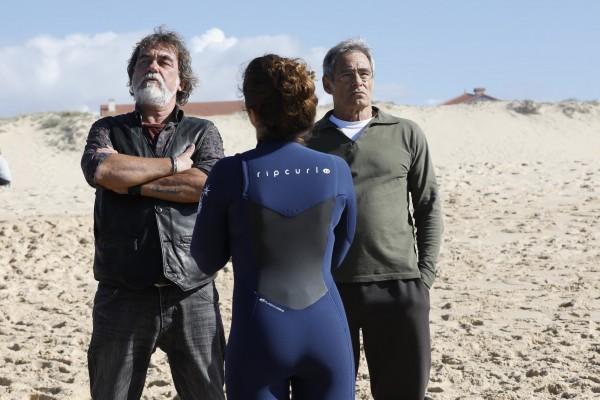 Olivier Marchal, Camille Aguilar, Gérard Lanvin