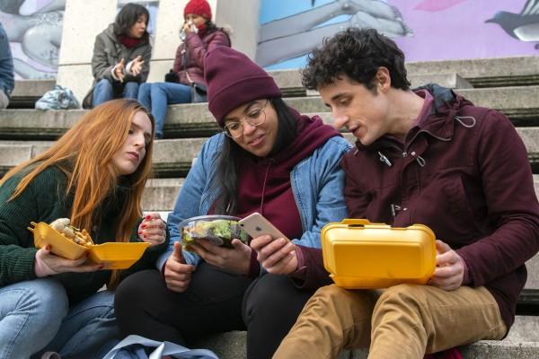 Alison Wheeler (Acteur), Melha Bedia (Nour), Bastien Ughetto (Steph)