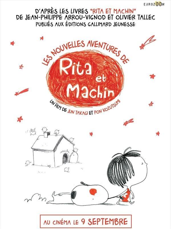 Les nouvelles aventures de Rita et Machin, affiche