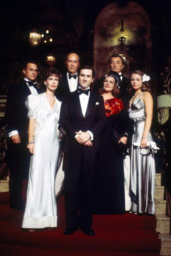 Tony Curtis, Leslie Curtis, Ray Milland, Robert De Niro, Jeanne Moreau, Robert Mitchum, Theresa Russell