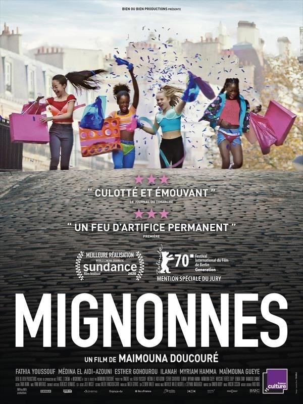 Mignonnes, affiche