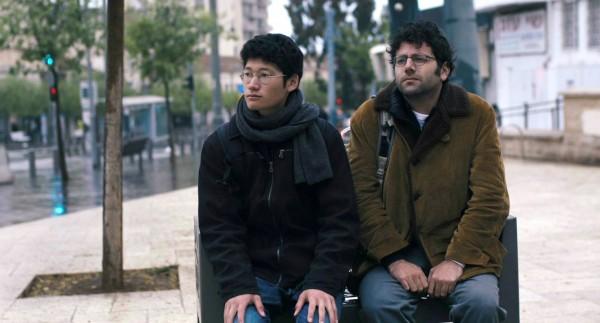 Taishi Tanaka (Shochai), Yossi Atia (Ronen Matalon)