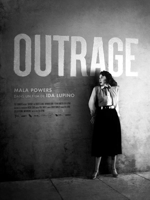Outrage, affiche