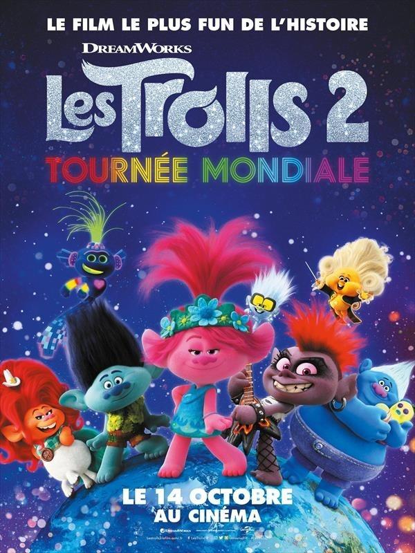 Les Trolls 2 : tournée mondiale, affiche