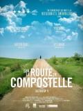 Sur la route de Compostelle, affiche