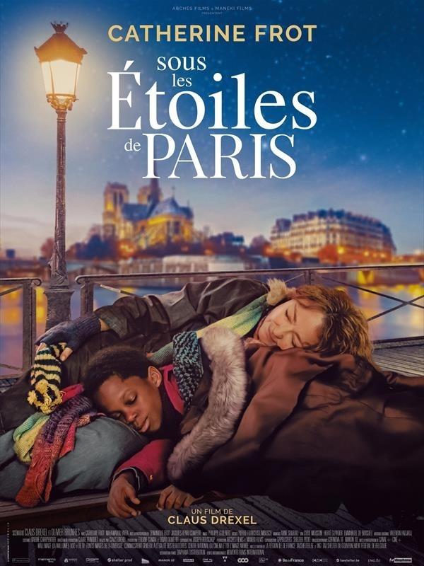 Sous les étoiles de Paris, affiche