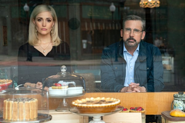 Rose Byrne (Faith Brewster), Steve Carell (Gary Zimmer)