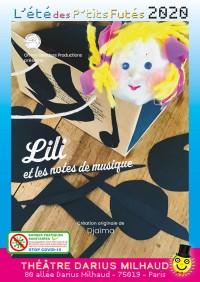 Lili et les notes de musique au Théâtre Darius Milhaud