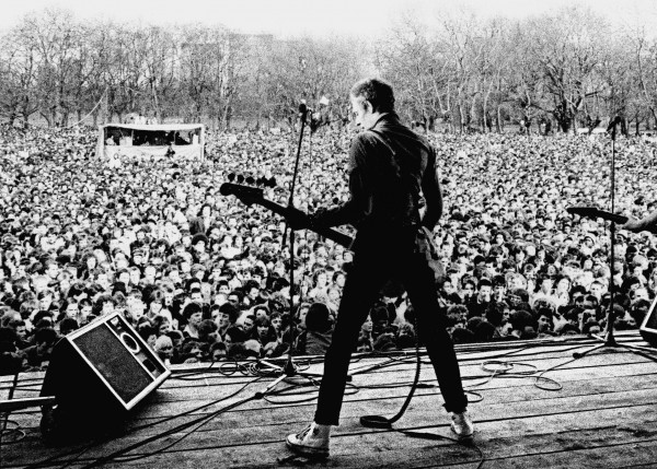 Concert du mouvement Rock Against Racism en 1976