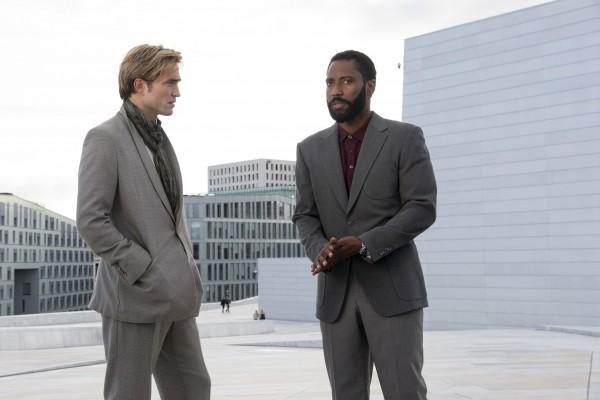 Robert Pattinson (Acteur), John David Washington (le protagoniste)