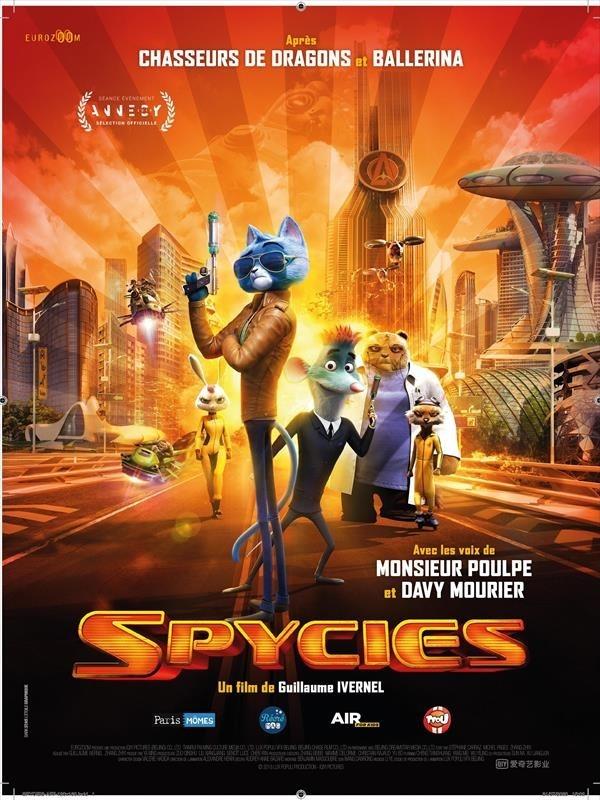 Spycies, affiche