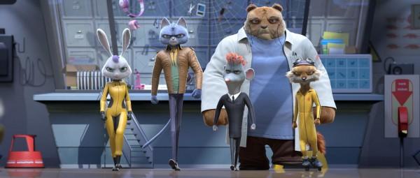 Chloé, Vladimir, Hector, Doc et Cap