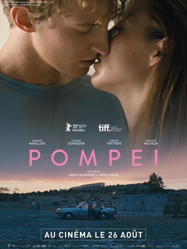 Pompéi, affiche