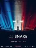 DJ Snake - Le concert au cinéma, affiche