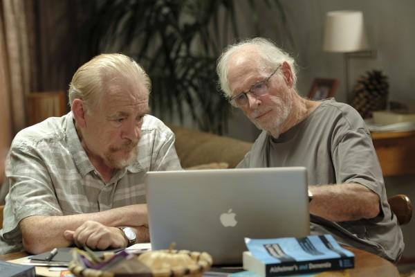 Brian Cox (Shane), Bruce Dern (Claude)