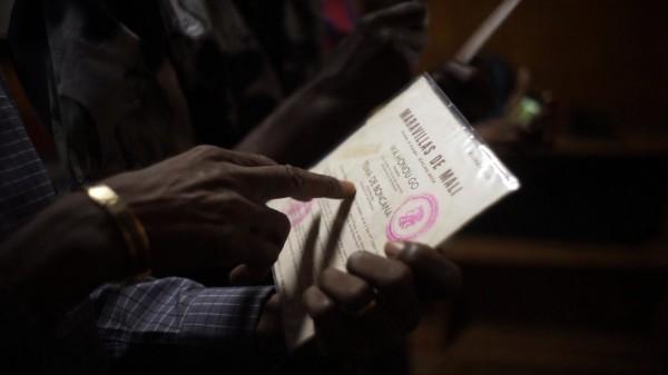 Pochette d'un vinyle des Maravillas de Mali