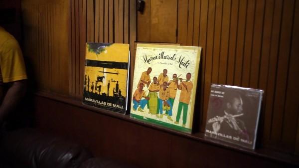 Pochettes vinyles des Maravillas de Mali
