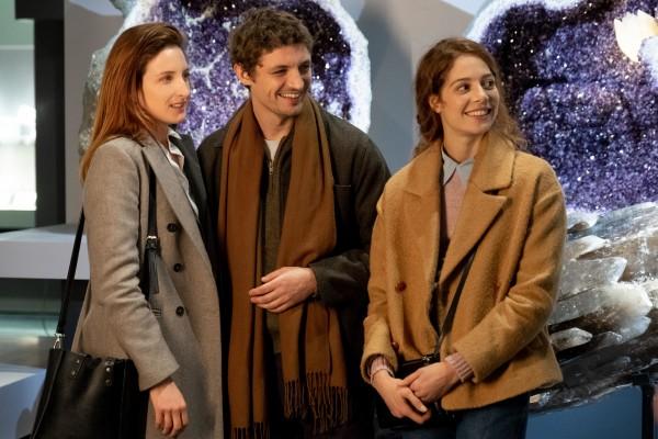 Julia Piaton (Victoire), Niels Schneider (Maxime), Jenna Thiam (Sandra)