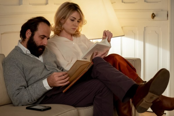 Vincent Macaigne (François), Emilie Dequenne (Louise)