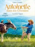 Antoinette dans les Cévennes, affiche