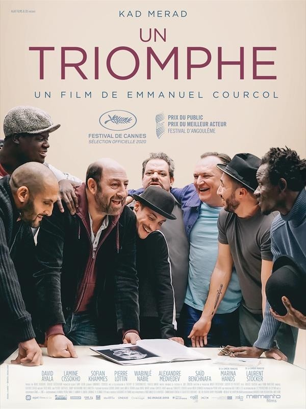 Un triomphe, affiche