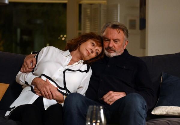 Susan Sarandon (Lily), Sam Neill (Paul)