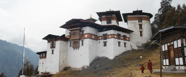 Le monastère où étudie Peyangki