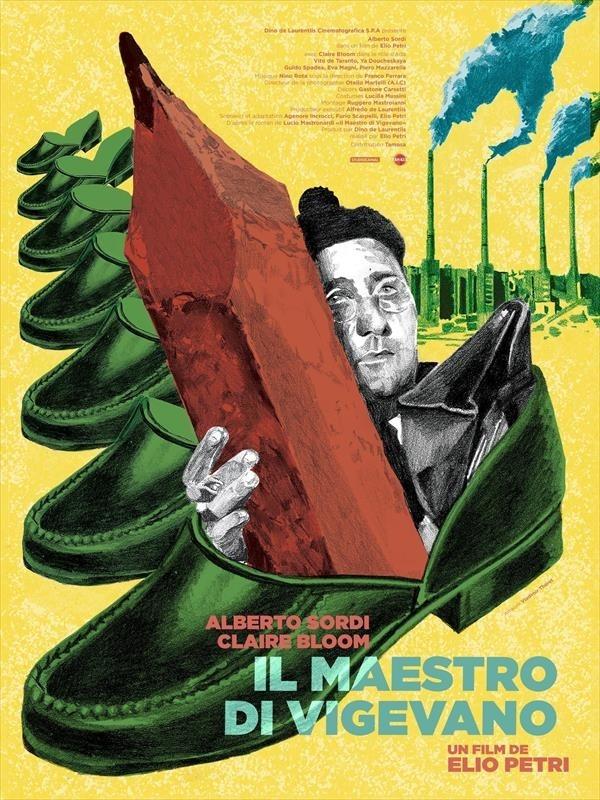 Il maestro di Vigevano, affiche