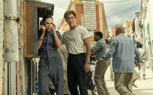 Gal Gadot (Diana Prince / Wonder Woman), Chris Pine (Steve Trevor)