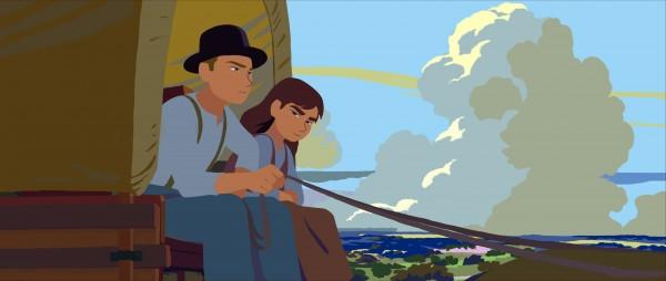 Ethan et Martha Jane