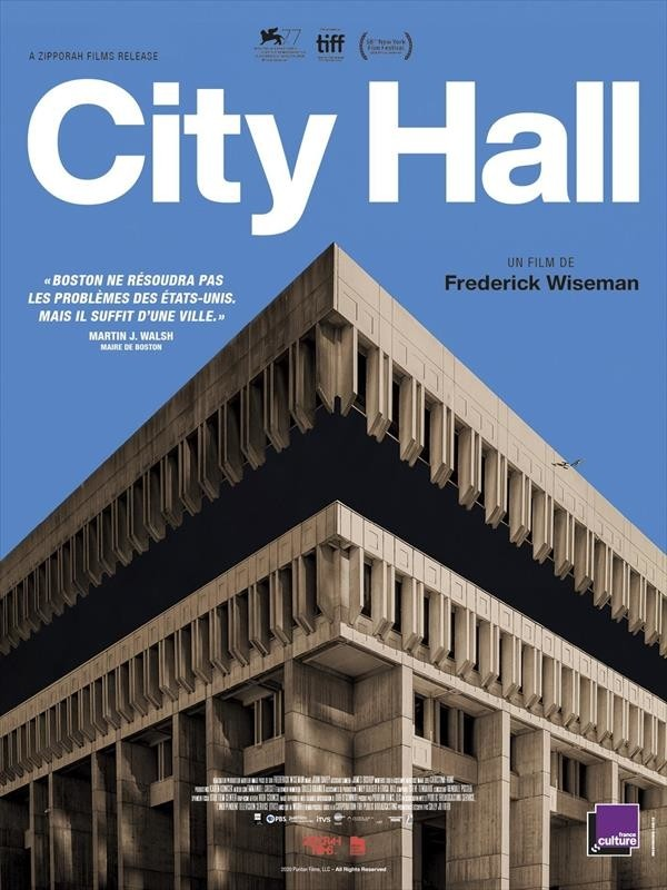 City Hall, affiche.