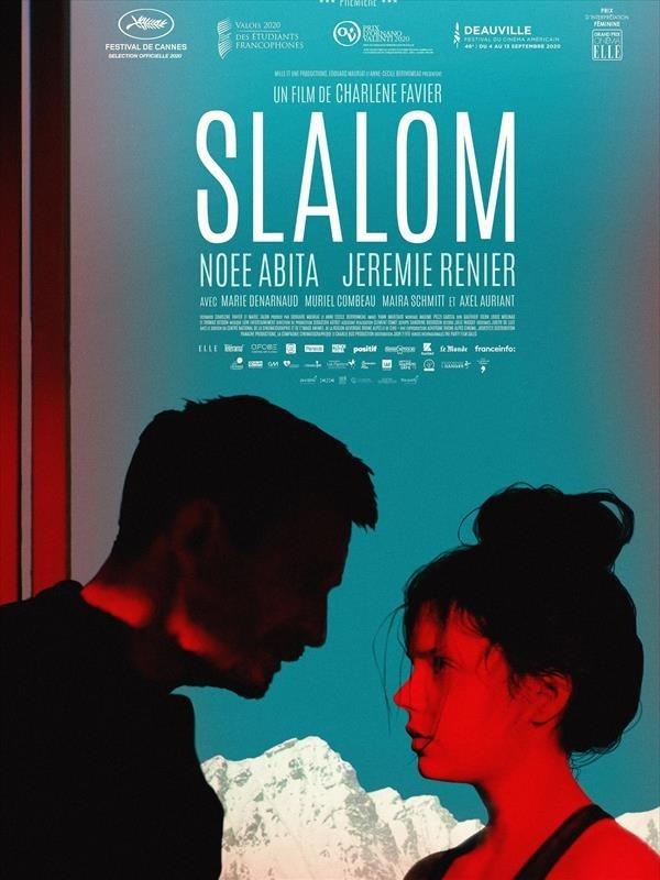 Slalom, affiche