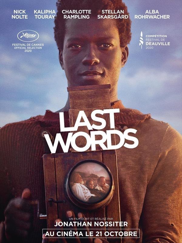 Last Words, affiche.