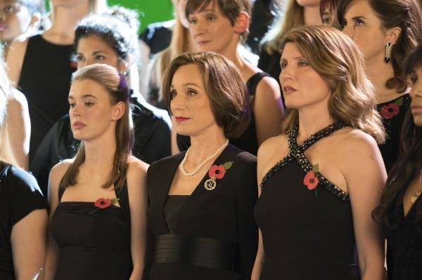 Amy James-Kelly (Sarah), Kristin Scott Thomas (Kate Taylor), Sharon Horgan (Lisa)