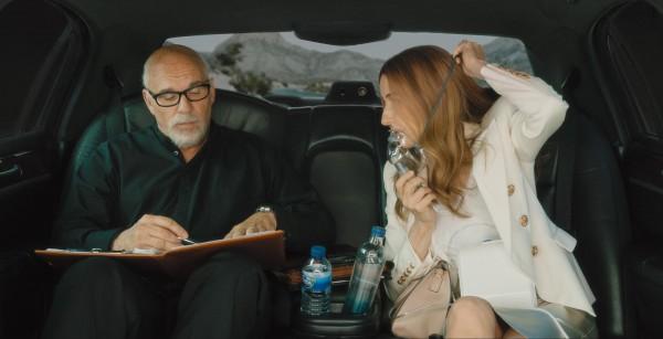 Sylvain Marcel (Guy-Claude Kamar), Valérie Lemercier (Aline Dieu)