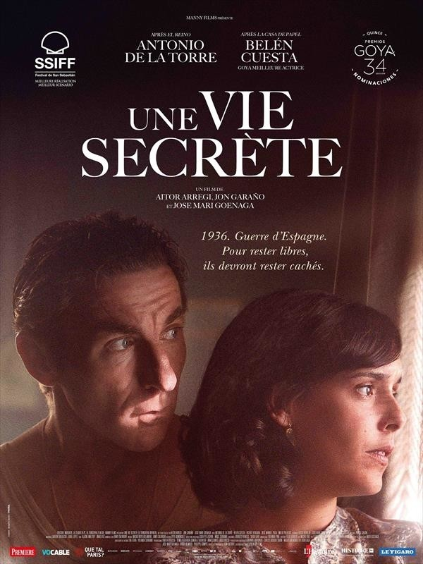 Une Vie secrète, affiche