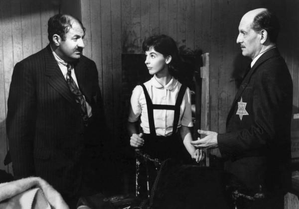 Lou Jacobi, Millie Perkins, Joseph Schildkraut