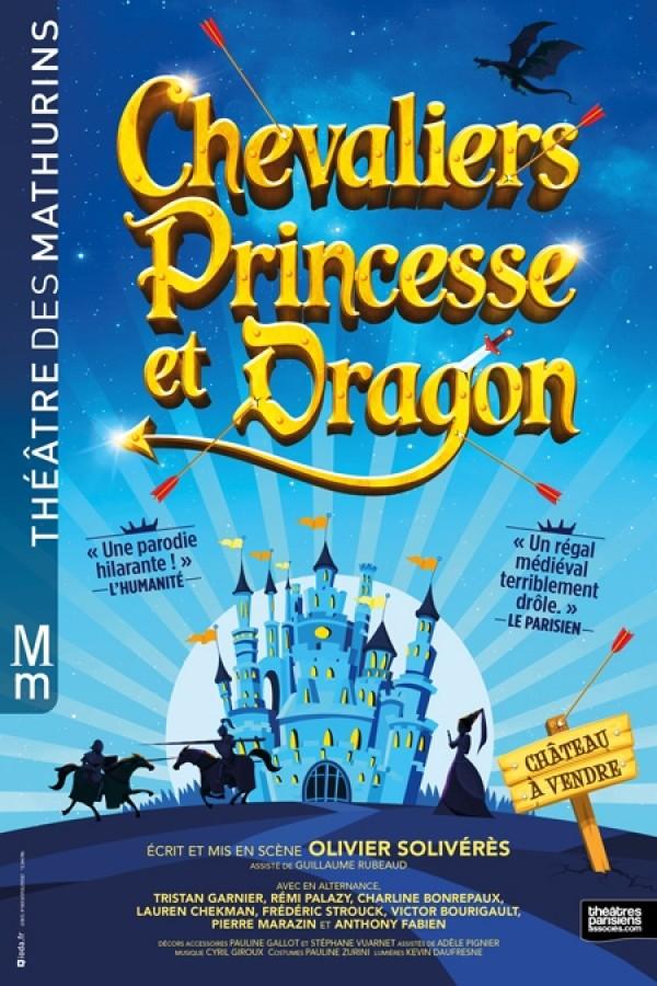 Chevaliers, princesse et dragon au Théâtre des Mathurins