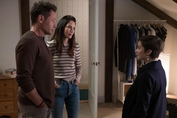 David Duchovny (Acteur), Michelle Monaghan (Acteur), Caillee Spaeny (Hannah)