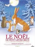 Le Noël de petit lièvre brun, affiche