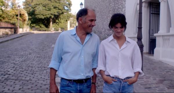 Frédéric Pierrot (le père de Suzanne), Suzanne Lindon (Suzanne)