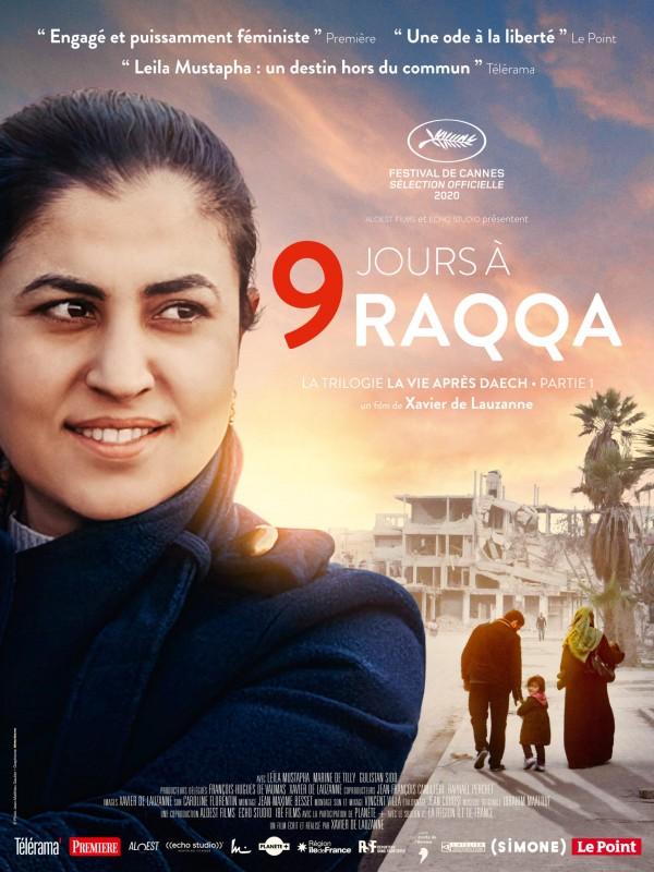 9 jours à Raqqa - affiche