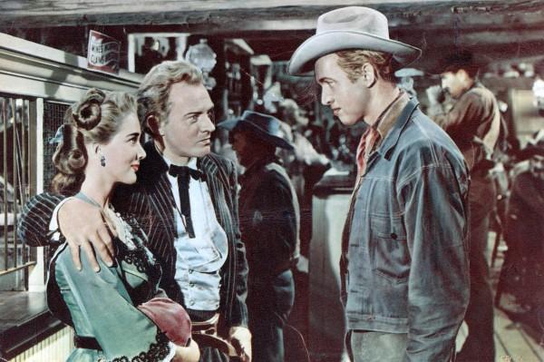 Julie Adams, Arthur Kennedy, James Stewart