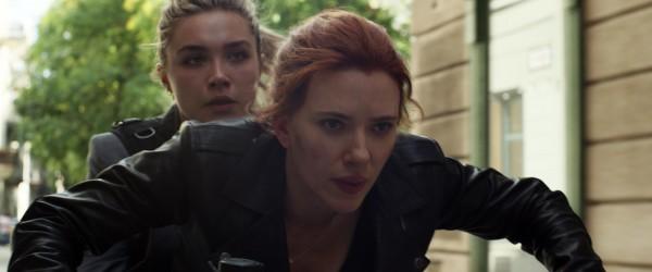 Florence Pugh (Yelena Belova), Scarlett Johansson (Natasha Romanof / Black Widow)