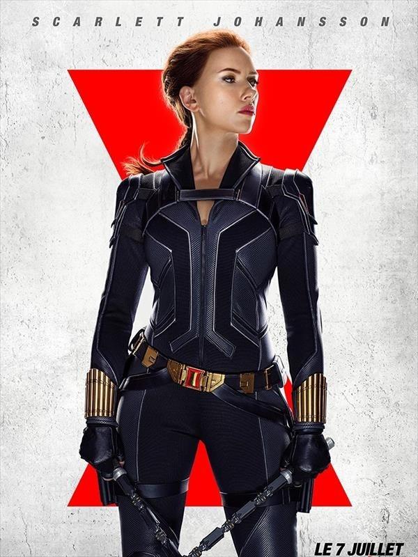 Affiche Black Widow