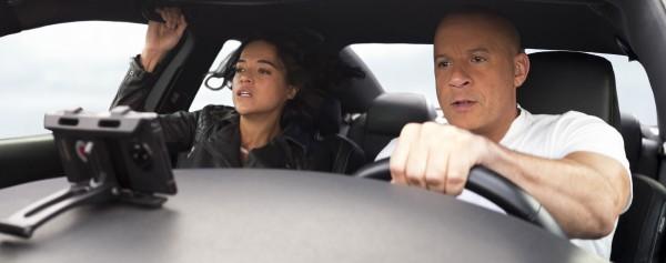 Michelle Rodriguez (Lety Ortiz), Vin Diesel (Dominic Toretto)