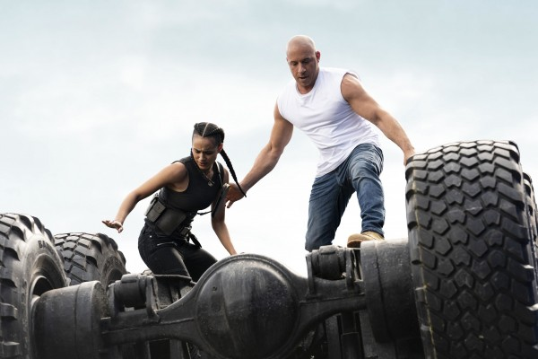 Nathalie Emmanuel (Ramsey), Vin Diesel (Dominic Toretto)