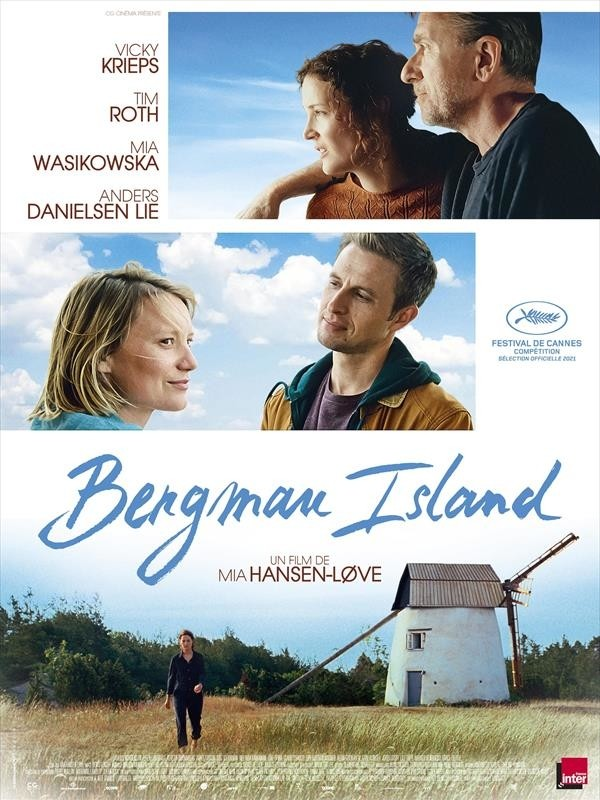 Bergman Island, affiche