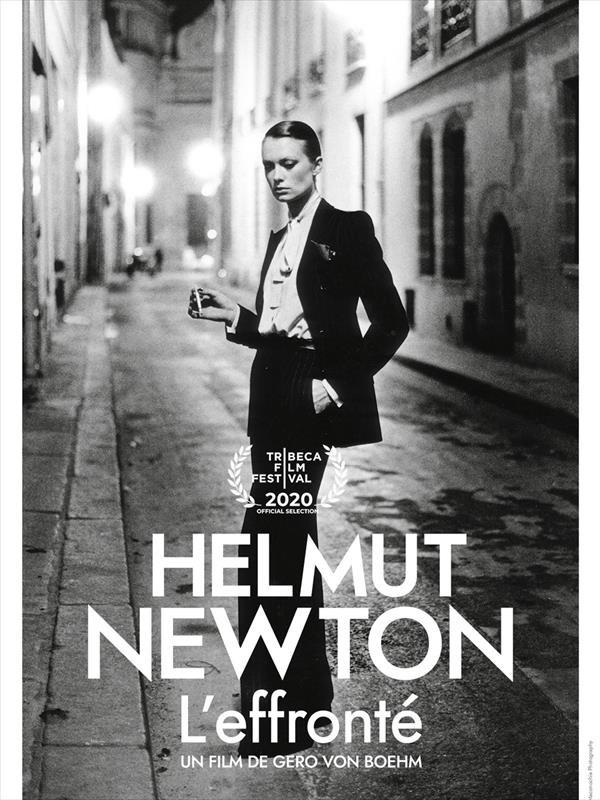 Helmut Newton, l'effronté, affiche