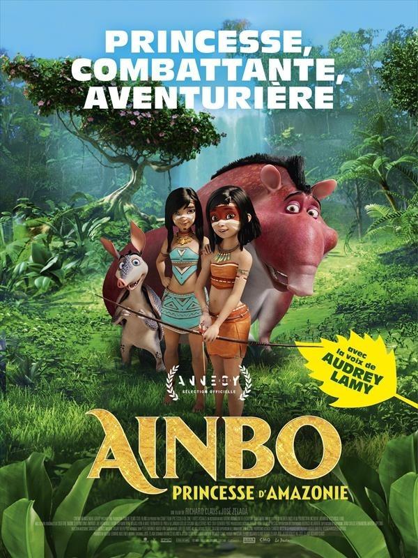 Ainbo, princesse d'Amazonie, affiche